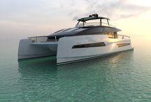 Luxury Design / Inspiré des Motoryachts, FURIO est un catamaran à fort caractère ; Séducteur, Puissant, Racé, Design, Innovant, Astucieux et Raffiné.