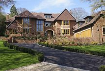 Case Study: Mumford & Wood - Beaconsfield / Mumford & Wood supplied leaded light Oak casement windows, French and bi-fold doors for a beautiful new residence in Buckinghamshire.  Traditional rectangular leaded casements are part of Mumford & Wood's highly coordinated Conservation™ range which includes sliding sash windows, French doorsets, bi-fold and entrance doors in traditional and contemporary styles.   Bespoke, made-to-order Conservation™ products are manufactured from sustainably sourced and FSC certified, clear grade timber.