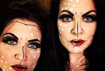 Halloween makeup & latex / All Halloween makeup and latex I've done lately / by Michelle Belnap