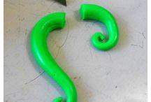 orecchini polymerclay fimo idee / orecchini earring