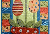 Quilt Easter Wall hanging