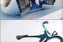 Futuristic vehicles