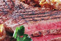Grilling Season / May is National Barbecue Month!! We're planning to celebrate the greatness of grilling all month (and all year) long! BBQs - on the beach, in your garden.. once the sun's out, alfresco dining is in! Let grilling season begin! What's your favorite meal to grill up for a crowd?