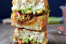 Sammiches / Sandwiches make a good snack, but sammiches are forever! / by ღ¸¸.Ƹ̴Ӂ̴Ʒ¨¯`♥ Sherri Ray-Pforr