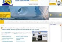 Transport Maritime - Sites Internet / Sites Internet réalisés par l'agence Web Cognix Systems pour le transport maritime et le secteur naval