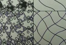 Tangle patterns / Stuff