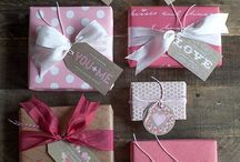 Gift Wrap and Gift Ideas / by Andrea Smith