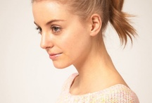 Ponytail Hairstyles 2012 / by Alice Smith