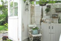 The Great Outdoors / Create your own secret den or summer house in the peace of your own garden with some of these inspiring ideas - from humble sheds to gorgeous glass houses, each offers a tiny home from home