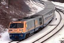 VIA Rail Trains / All kinds of trains (vintage, modern, passenger, freight) / by Bob Steele