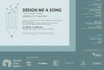 Design me a song / Spazio Casa Teatro, concept showroom che riunisce alcune eccellenze produttrici italiane del settore domestico, promuove il la mostra 'Design Me a Song'.La mostra prevede l'esposizione di 7 oggetti e complementi d'arredo ispirati da 7 diverse canzoni.