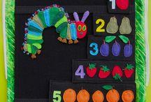 Manualidades La pequeña oruga glotona / Actividades y manualidades infantiles relacionadas con el libro La pequeña oruga glotona / The very hungry caterpillar