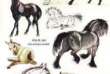 HORSES!!!!!!!!!!!!!!