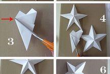 Бумажные 3D фигурки