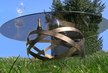 Table basse,coffee table, design furniture by www.douelledereve.com / Table basse d'intérieur et extérieur,coffee table, design furniture, create by Eric Daout / www.douelledereve.com