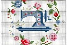 embroidery, stitch, sewing & so on