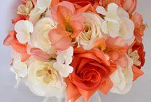 Ślubne inspiracje / ślub, bukiety, kwiaty,