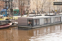 HouseBoat Ark van Amstel @Amsterdam - For Rent