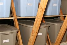 ORGANIZED +  ATTIC / Organizing ideas and products for your attic storage