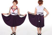 Anime Inspired Convertible Dresses / Custom convertible dresses inspired by anime characters!