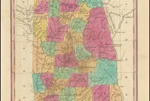 Alabama Antique Maps / Antique maps of Alabama show the dramatic changes in the states geographical and political situation over time. Vintage maps of Alabama often show the growth of railroads, counties and cities in The State of Alabama. Old maps of Alabama, including antique maps of Birmingham, Montgomery and Mobile can be found here.