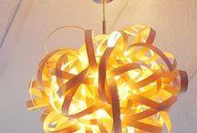 Furnier-Lampen