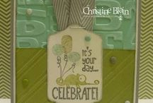 Stampin up Tag it