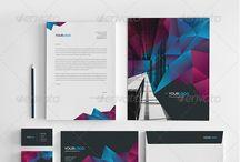 Corporate Identity Design / stationery design, letterhead design, folder design, business card design and more!