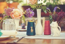 Eclectic, rustic & vintage Wedding Ideas / by Tandy Mounter