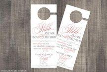 DIY Printable Digital Downloads - Wedding Cards
