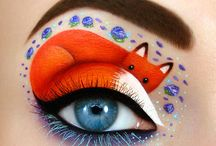 Maquillage yeux animaux