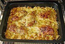 Bratkartoffelauflauf mit Fleisch