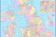 UK Maps / Maps of the United Kingdom for education, reference and business planning.