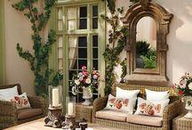 veranda dekorasyon