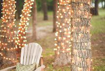 Unelmien puutarha - valoilla tunnelmaa