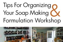 Inside The Workshop / by HSCG | Handcrafted Soap & Cosmetic Guild