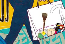 NJ Sung's Fashion illustration / Fashion illustration for men