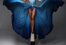 AB- Skating Life Full of Love (Blue Dress)