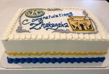 STB Graduation / At Sweet Themes Bakery, we love baking deliciously fresh, fun cakes, cookies, cupcakes, etc. to celebrate Graduations!