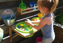 creative children outdoors