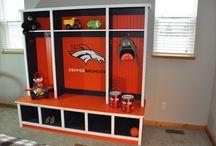 Devlin's Broncos Bedroom