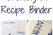 Binders: organization