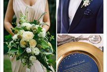 Sapphire inspired wedding inspiration