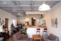 店舗デザイン事例:Fico-cafe・ zakka・workshop- @西尾市