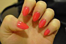 nails hybrid / nails hyrid, nails, SEMILAC, Indigo, SPN, paznokcie hybrydowe