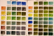 Watercolour charts / Selection of charts
