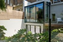 Glass Balustrades / A Glass Balustrade is a barrier or form of guarding; generally waist height (but available in a variety of different heights and thicknesses) which prevent people from falling.