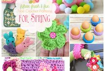 spring and Easter crochet.
