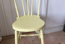 Möbler på nytt / Renoverade möbler med patina av ett lyckligt liv