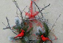 Decoración  cardenal norteño